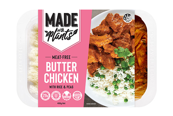 Meat free Butter Chicken