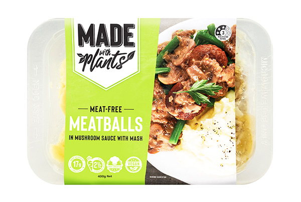 Meat free Meatballs & Mash