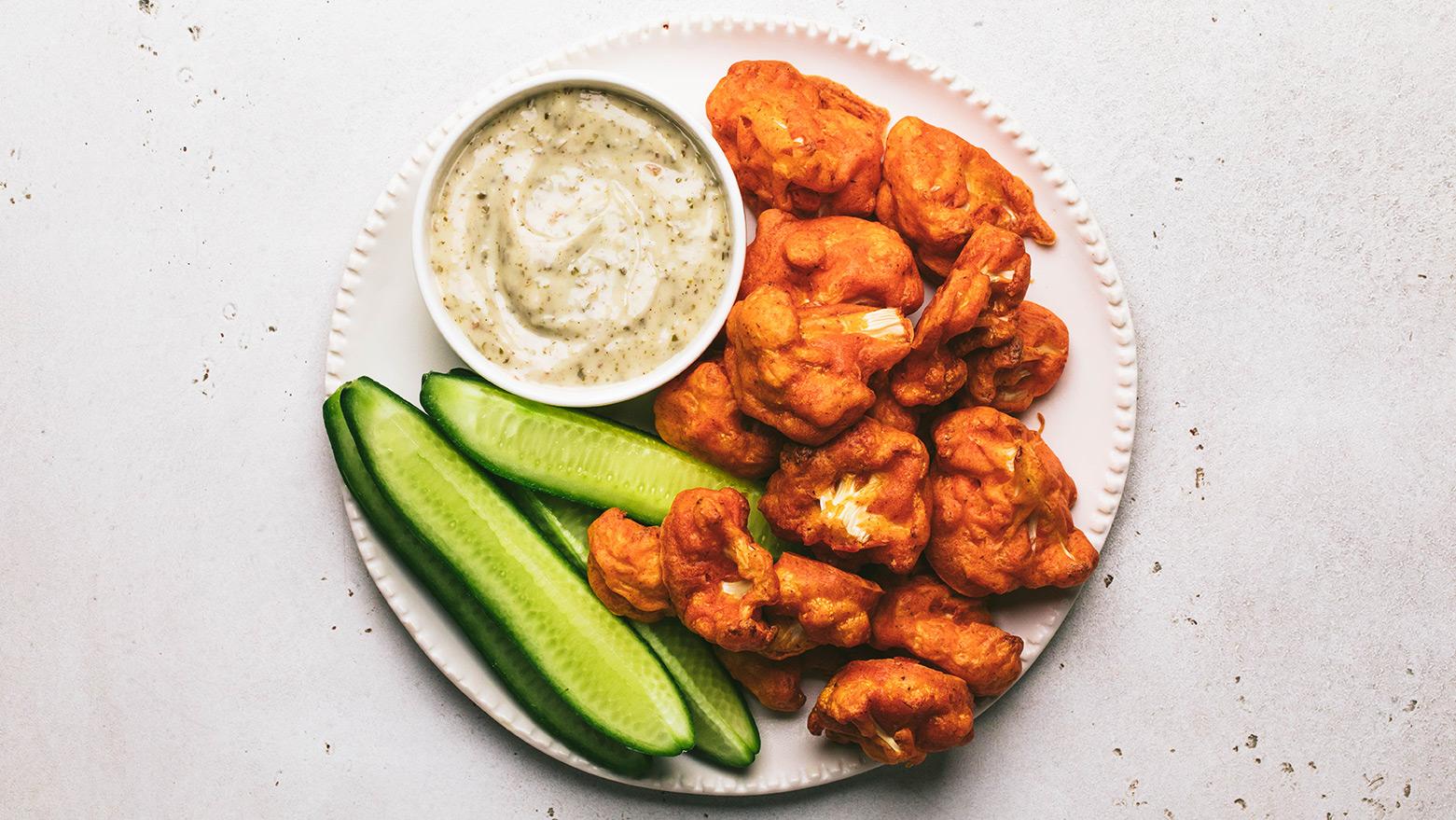 vegan-Spicy-Cauliflower-Wings-video