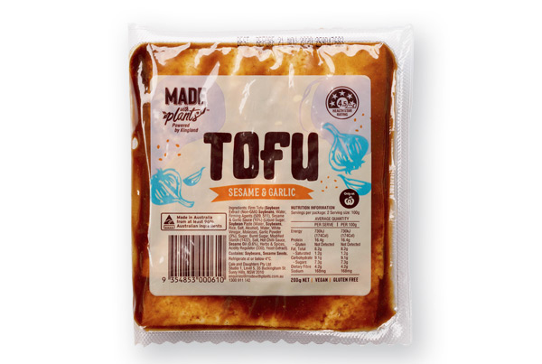 Tofu Sesame And Garlic